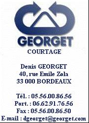 Logo GEORGET Courtage